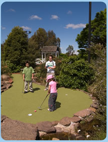 Wetlands Mini Golf - Hervey Bay Accommodation