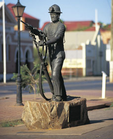 Miners Monument - Hervey Bay Accommodation